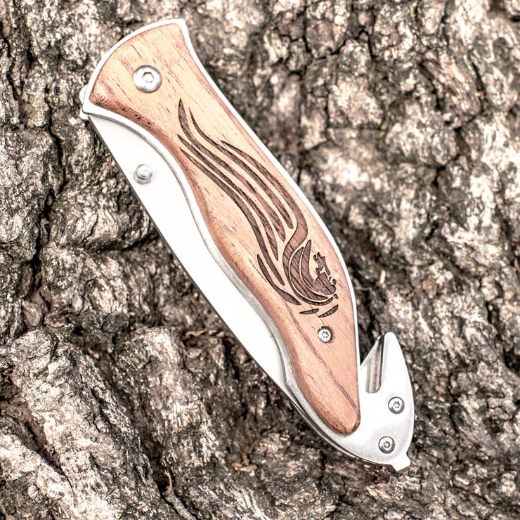 Knife - Tribal Horse 138