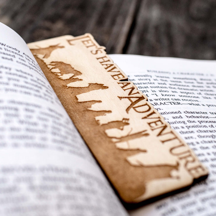 Let's Have an Adventure - Bookmark
