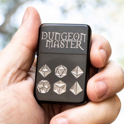 Lighter - BLACK - Dungeon Master - Star Int. IncR1