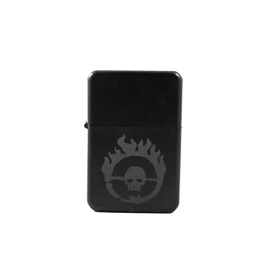 Lighter - Skull Branding - Black L1