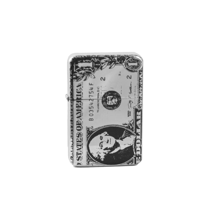 Lighter - 1 Dollar Bill High Polish Chrome L1