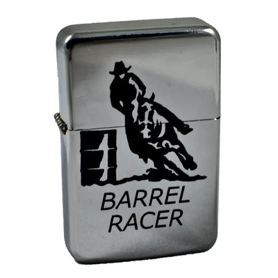 Lighter - Barrel Racer High Polish Chrome L1