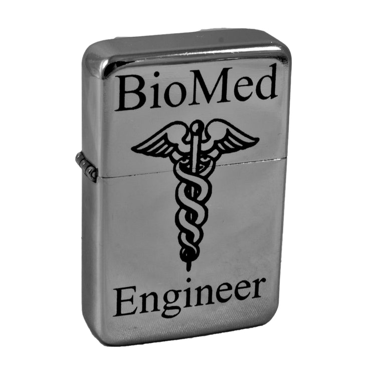Lighter - BioMed Engineer High Polish Chrome L1