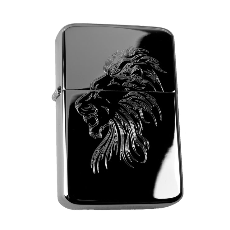 Lighter - Lion High Polish Chrome R1