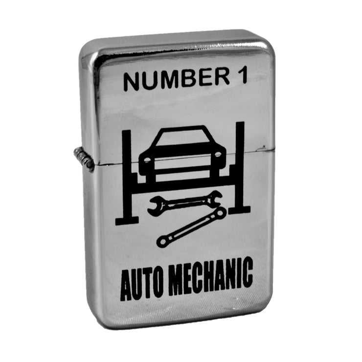 Lighter - Number 1 Auto Mechanic High Polish Chrome L1