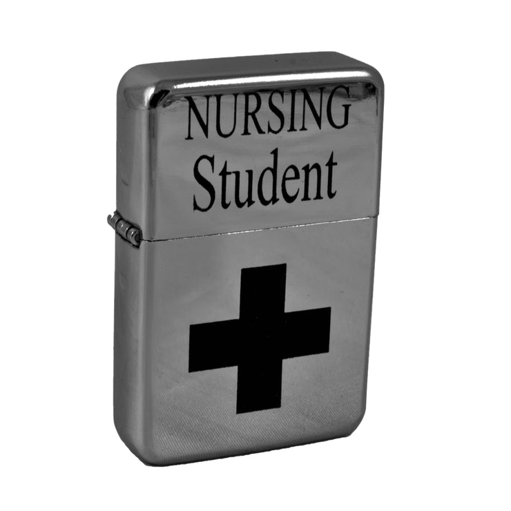 Lighter - Nursing Student High Polish Chrome L1