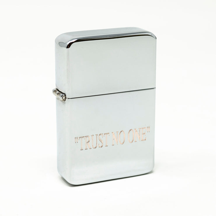 Lighter - TRUST NO ONE Chrome R1