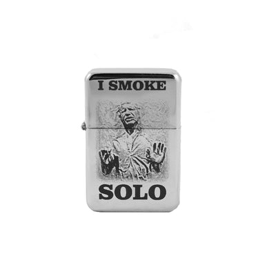 Lighter - I Smoke Solo - High Polish Chrome L1