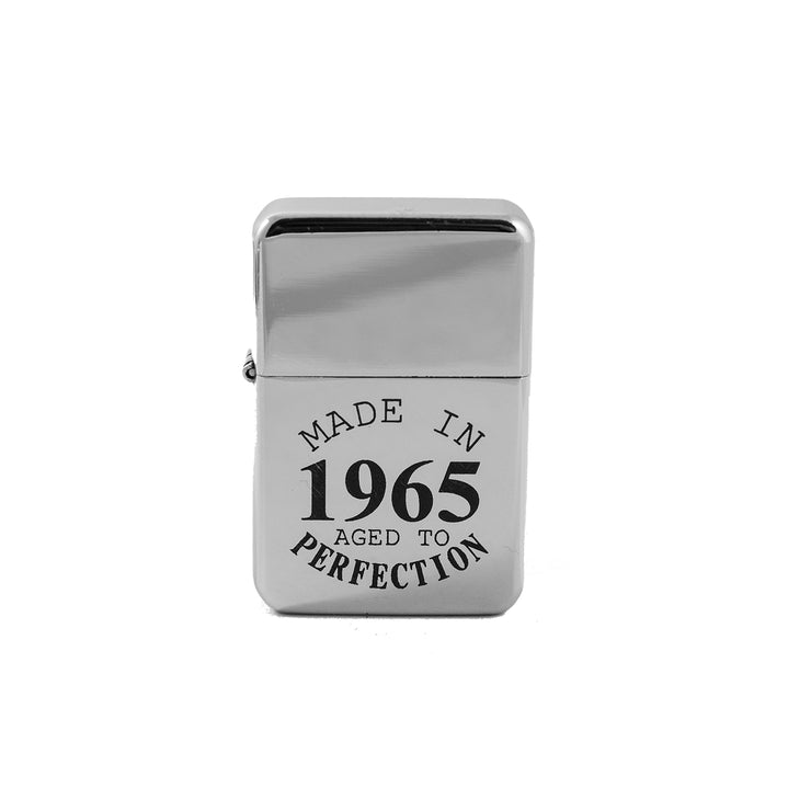 Lighter - Made in 1965 Aged to Perfection - High Polish Chrome L1