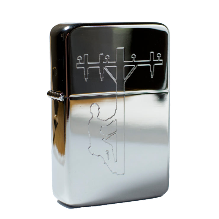 Lighter - Lineman 2 Polished Chrome R1