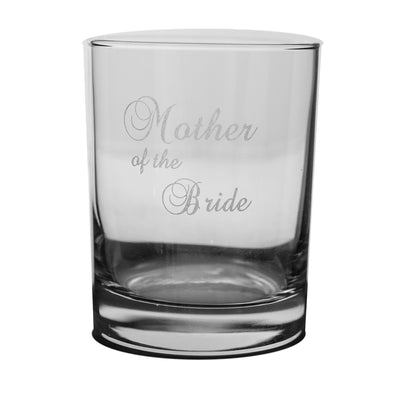 Designer Rocks Glass - Mother of the Bride Rocks Glass Lowball