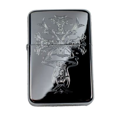 Lighter - Papal Cross High Polish Chrome R1