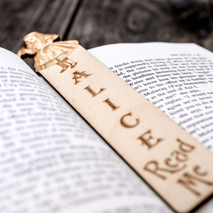 Read Me - Alice - Bookmark