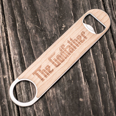 The Godfather - Wooden Bottle Opener