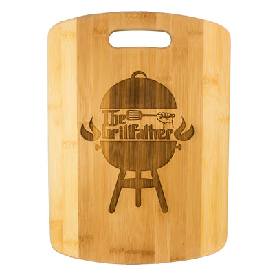 The Grillfather Cutting Board 14''x9.5''x.5'' Bamboo