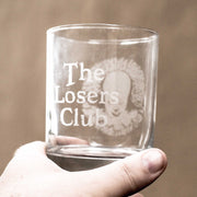 Designer Rocks Glass - The Losers Club