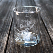 Designer Rocks Glass - We're All Mad Here