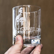 Designer Rocks Glass - You are one bad day away from being me