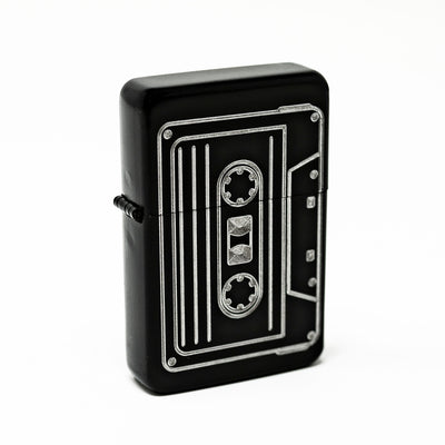 Lighter- Cassette Tape Black lighter R1