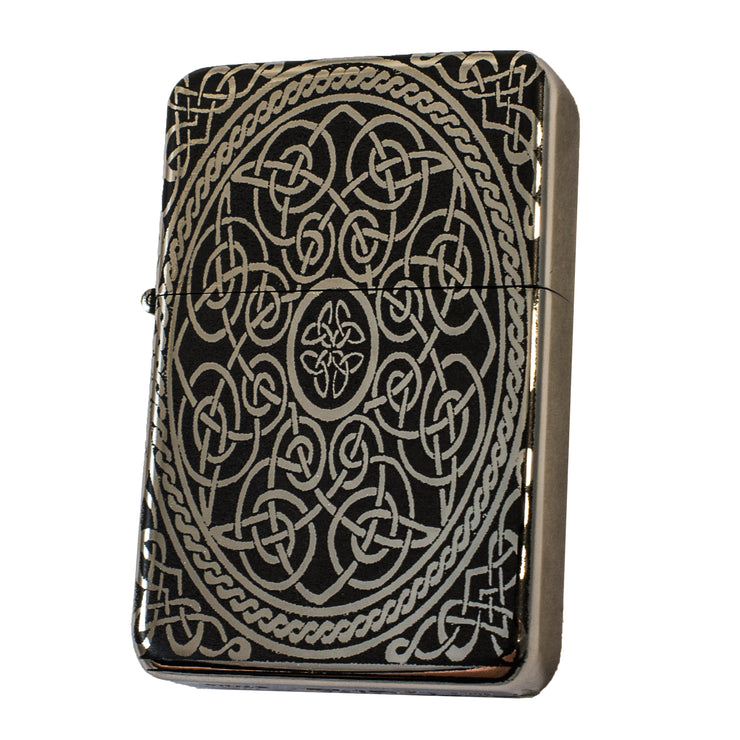 Lighter - Celtic Design High Polish Chrome L1