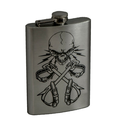 8oz Lineman 3 Flask L1
