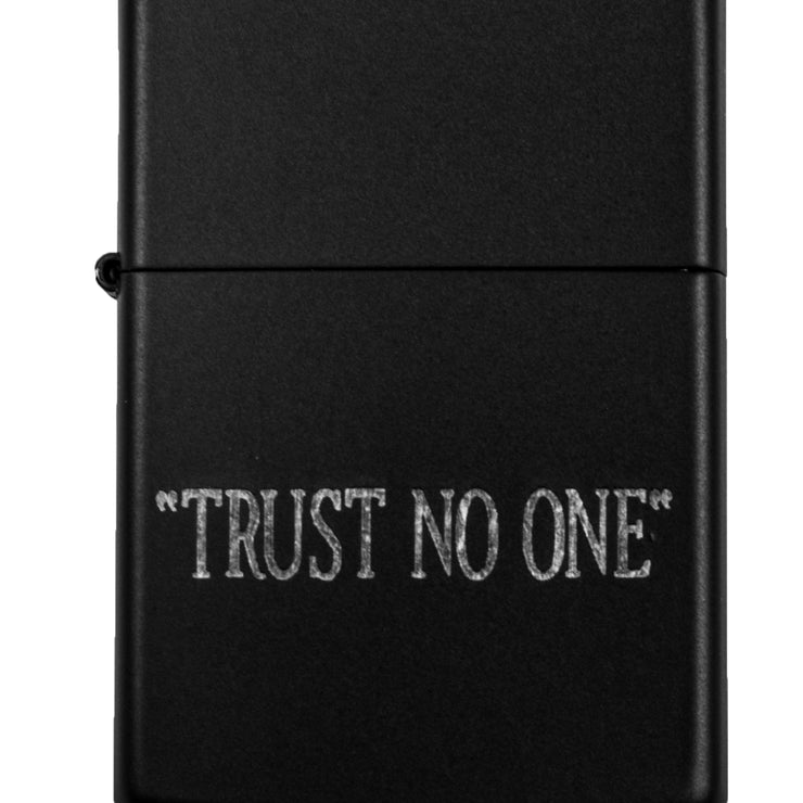 Lighter - Trust No One - Black L1