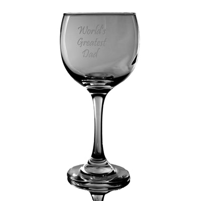 20oz World's Greatest Dad wine glass