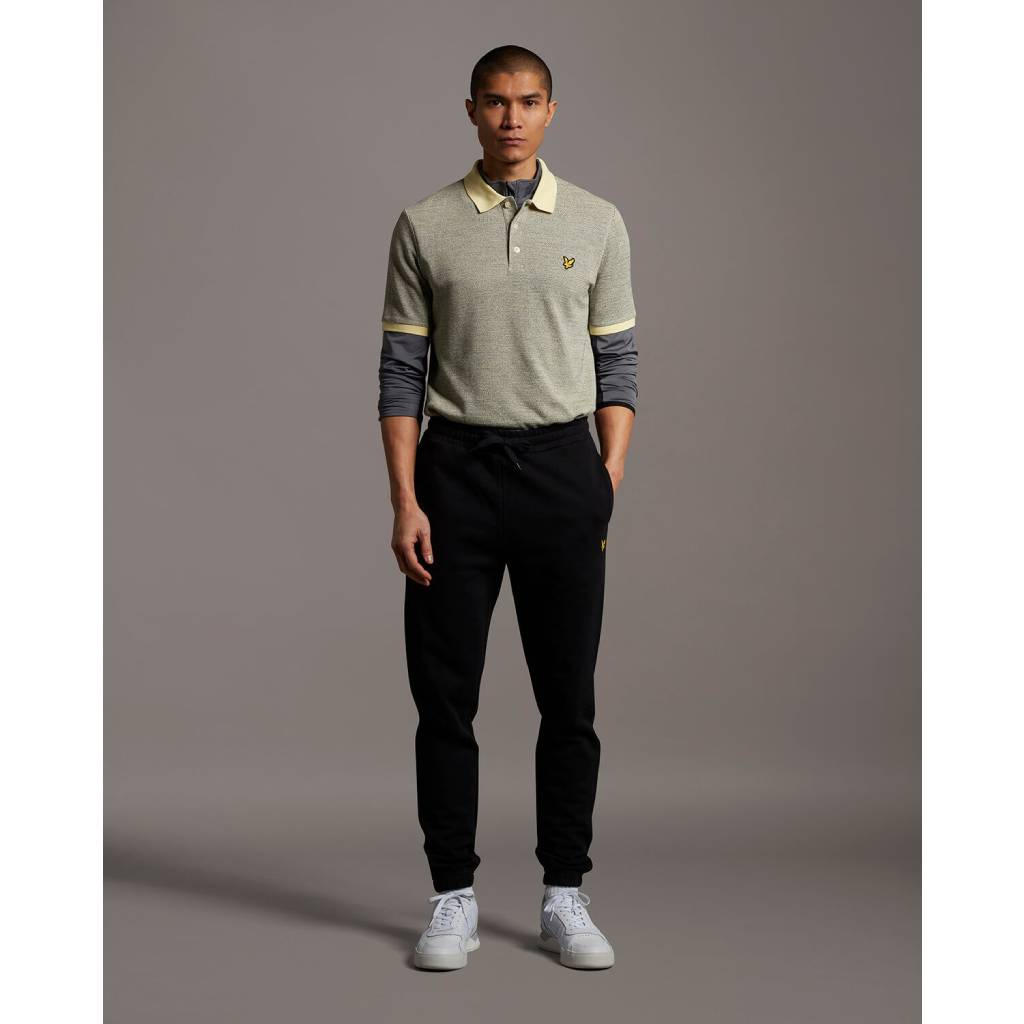 Lyle & Scott Slim Sweat Pant - Jet Black