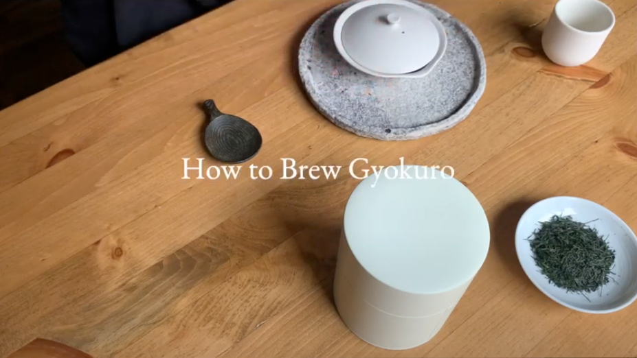 Youtube Video How to Brew Gyokuro