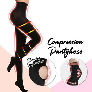 3 THICKNESS COMPRESSION PANTYHOSE