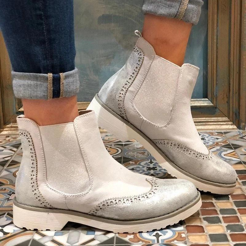 Chelsea Boot Split Joint Slip-On Ankle Boots