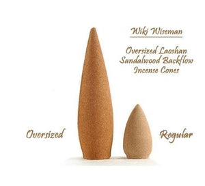 Oversized 30 Minutes Laoshan Sandalwood Backflow Incense Cones