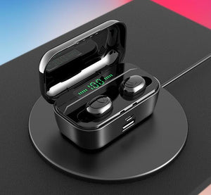 50% OFF-Touch Control Wireless Earbuds