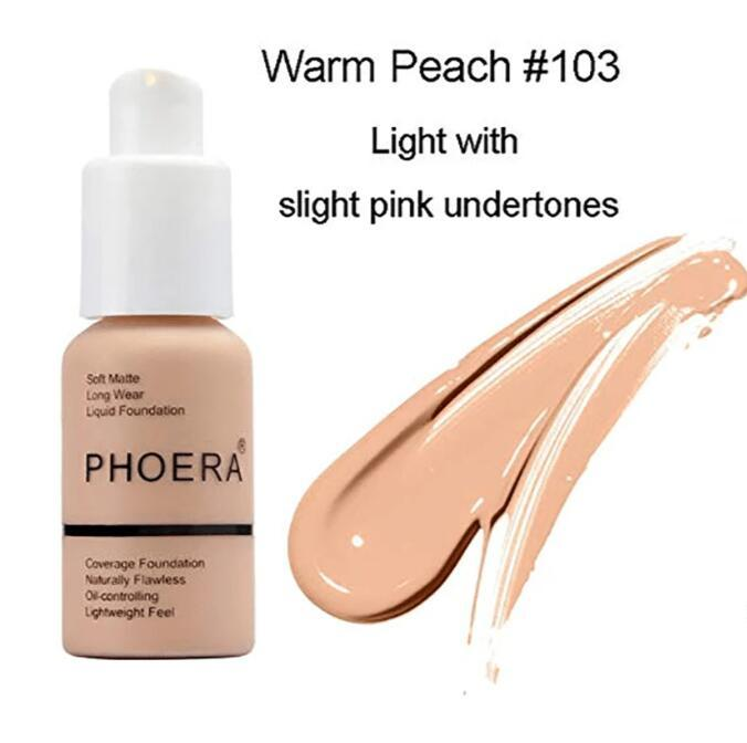 FLAWLESS LONGEST LASTING HIGH COVERAGE MAKEUP FOUNDATION CONCEAL CREAM