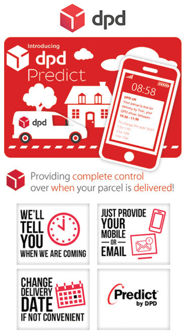 Fast shipping with DPD