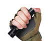 The PD36R fits nicely in the palm with easy access to the tactical switch