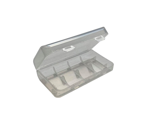 18650/CR123 Plastic Transparent Battery Case