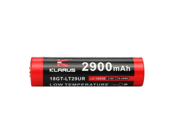 Klarus 18650 Rechargeable Battery - 2900 mAh Low Temperature