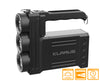 Klarus RS80 GT Rechargeable 3 LED Searchlight with 10,000 Lumens