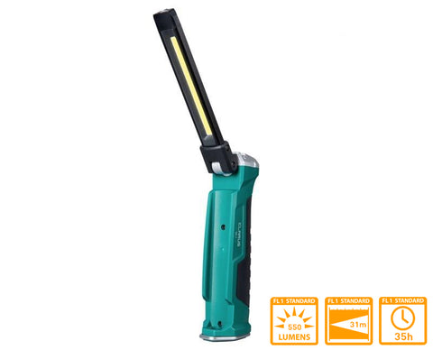 Klarus WL1 Rechargeable Magnetic Work Light with 550 Lumens