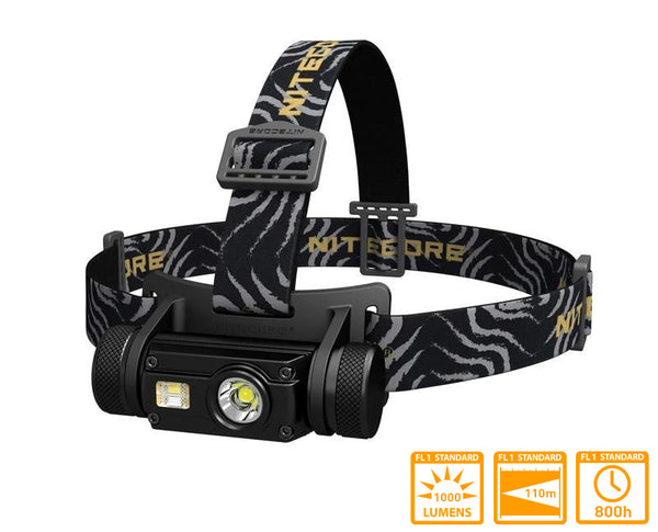 Nitecore HC65 Rechargeable Head Torch with XM-L2 U2 LED & 1000 Lumens