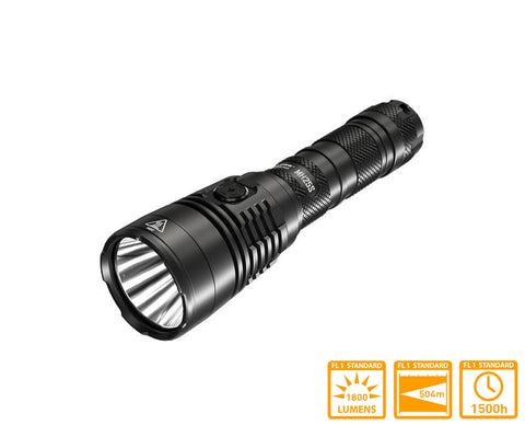 Nitecore MH25S Long Range Flashlight with SST40-W LED & 1800 Lumens