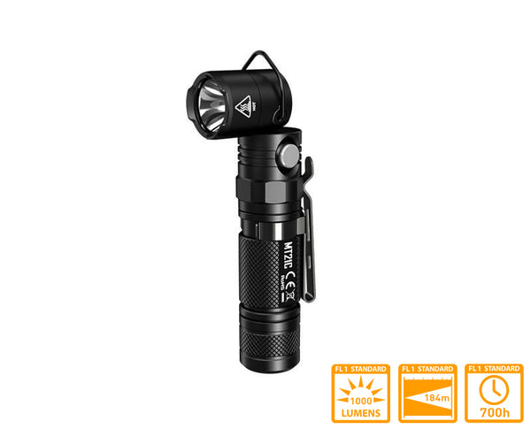 Nitecore MT21C Multi Angle Light with XP-L HD V6 LED & 1000 Lumens