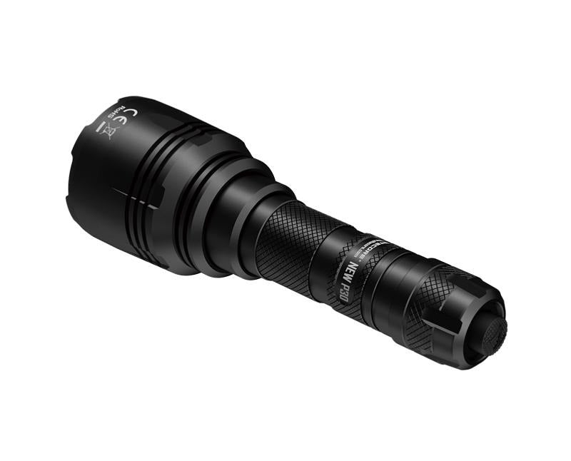 Large easy to use rear switch for easy operation on the Nitecore P30