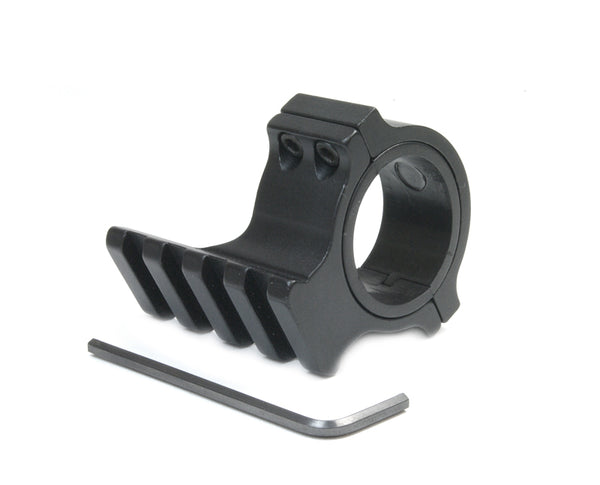 Scope Ring with Rail for Adding a Rail to Your Rifle Scope