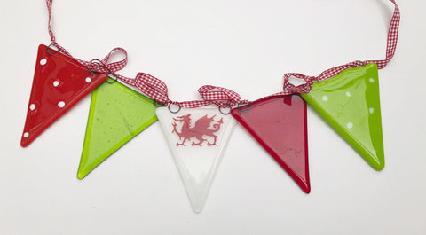 Welsh Dragon Mummy Bunting