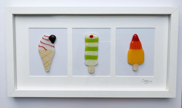 Trio Of Ice Cream