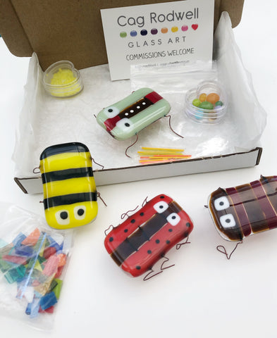 Make at Home Multicoloured Ugly Bugs Kit