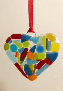 Make at Home Multicoloured Heart Kit