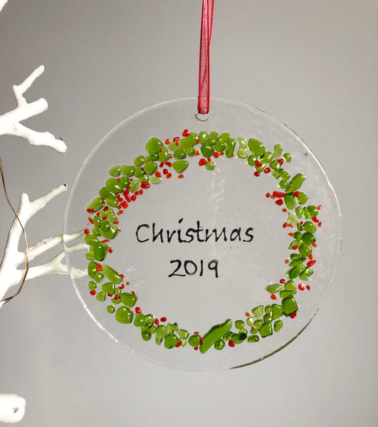 Christmas Wreath Light Catcher